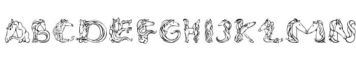 MagicalUnicornSansLight Font UPPERCASE