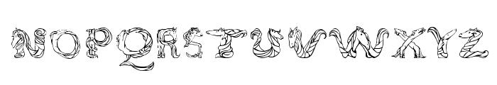 MagicalUnicornSansLight Font LOWERCASE