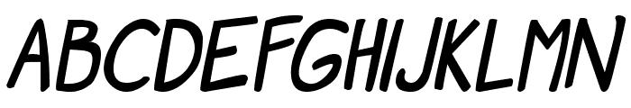 Manga speak 2 Bold Font UPPERCASE