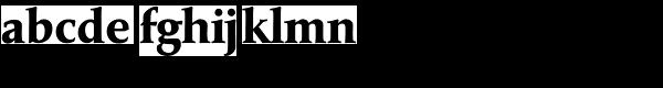 Marathon Serial Xbold Font LOWERCASE