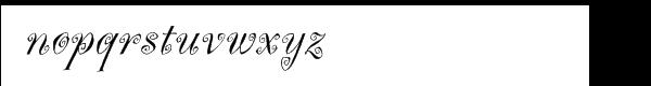 Marguerita™ Font LOWERCASE