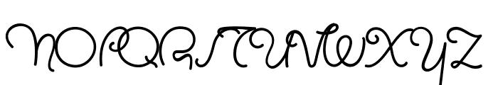 MasanaScript-1Propia Font UPPERCASE