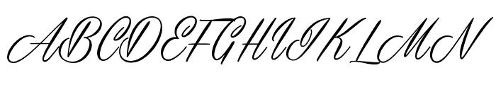 Masterics Personal Use Font UPPERCASE