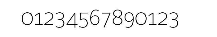 Maurea Thin OT Font OTHER CHARS