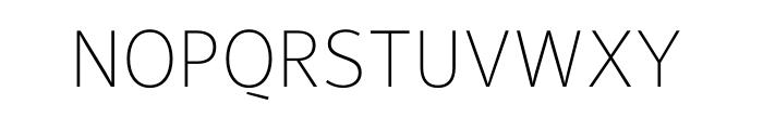 Maurea Thin OT Font UPPERCASE