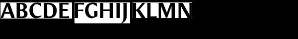 Meadow Pro Medium Font UPPERCASE