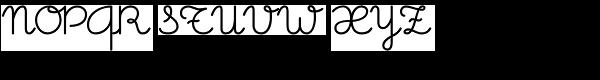 Memimas Bold Font UPPERCASE