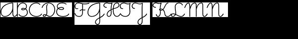 Memimas Medium Font UPPERCASE
