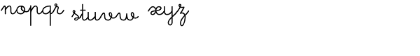 Memimas Medium Font LOWERCASE