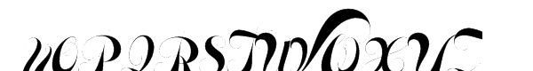Memoriam Pro Font UPPERCASE
