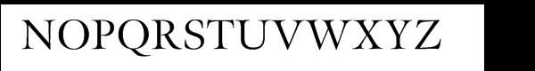 Meno SmallCaps Titling Font UPPERCASE