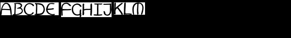 Merlin Font UPPERCASE