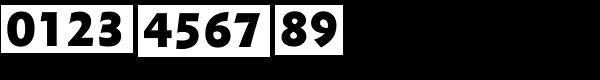 Metro Nova Pro ExtraBlack Font OTHER CHARS
