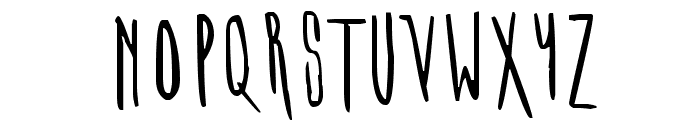 MIDORI Font UPPERCASE