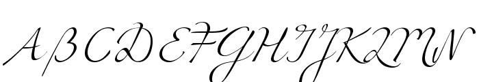 Miama Font UPPERCASE