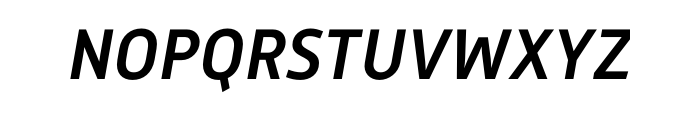 Mic 32 New Medium Italic Pro Font UPPERCASE