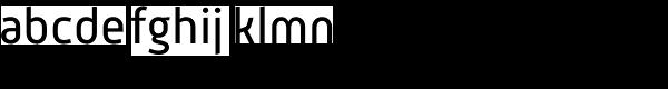 Mic 32 New Regular Font LOWERCASE