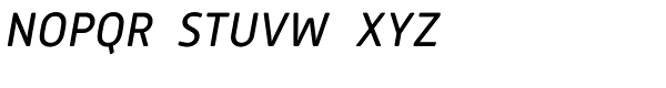 Mic32 New Rounded Italic Font UPPERCASE