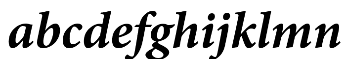 Mignon-BoldIt Font LOWERCASE