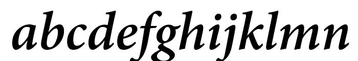 Mignon-SemiboldIt Font LOWERCASE