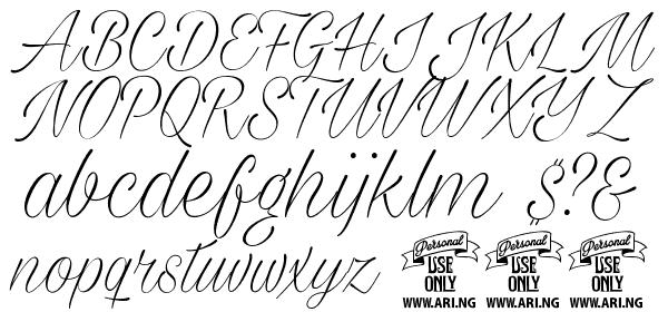 Milasian Circa Thin PERSONAL free Font