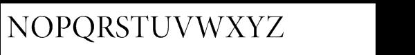 Minion® Pro Display Regular Font UPPERCASE