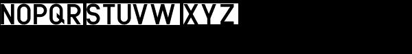 Mittelschrift Austria D Font UPPERCASE