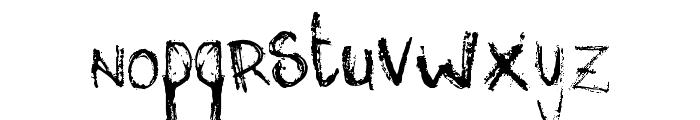 mis Font LOWERCASE