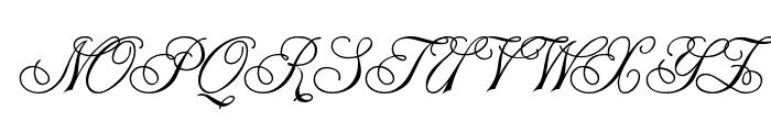 Monte-Kristo Font UPPERCASE