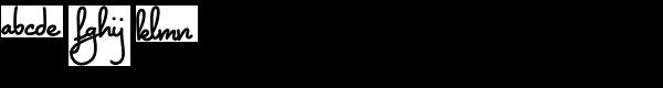 Montelago AOE Font LOWERCASE