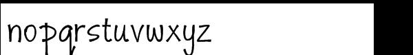 Monumint Regular Font LOWERCASE
