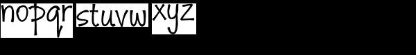 Monumint Font LOWERCASE