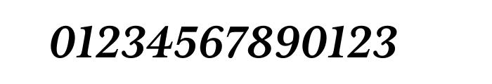 Mrs Eaves XL Serif Bold Italic OT Font OTHER CHARS