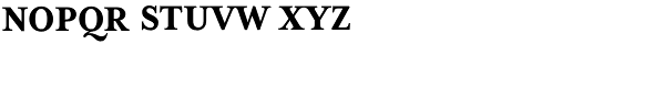 Mrs Eaves XL Serif Nar Bold SC Font LOWERCASE