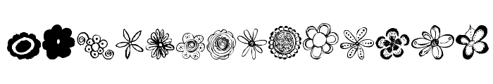 MTF Flower Doodles  What Font is