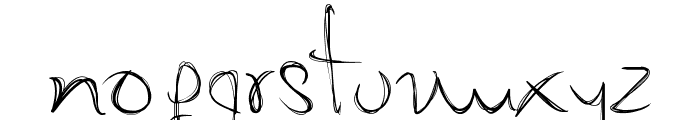 My Mom�s Font Font LOWERCASE