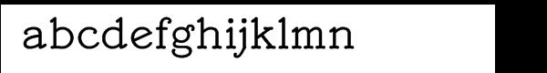 Mymra Piano Regular Font LOWERCASE