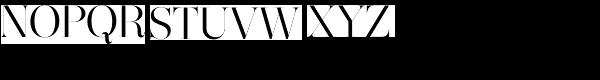 Narziss Regular Font UPPERCASE
