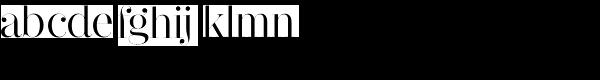 Narziss Regular Font LOWERCASE