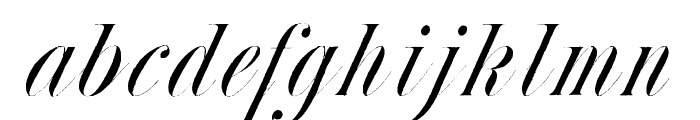 Nestor WF Italic Font LOWERCASE