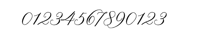 Nelly Script OT Font OTHER CHARS