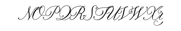 Nelly Script OT Font UPPERCASE