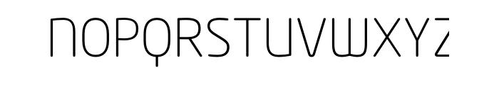 Neo Tech Std Light Font UPPERCASE