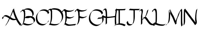 Neodymium Font UPPERCASE