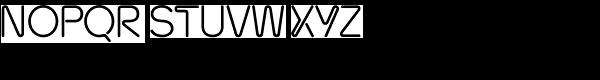 Neon Bugler Font UPPERCASE