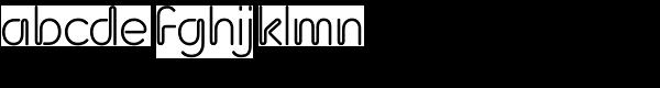 Neon Bugler Font LOWERCASE