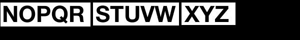Neue Helvetica Arabic Std Bold Font UPPERCASE