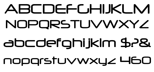 Neuropol free Font - What Font Is