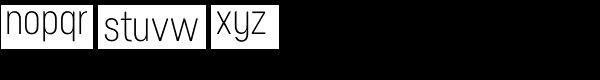 Neusa Font LOWERCASE