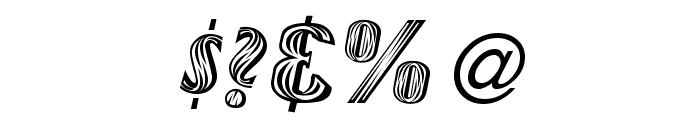 NewMexico Font OTHER CHARS